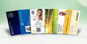 Plastikkarten von Mada