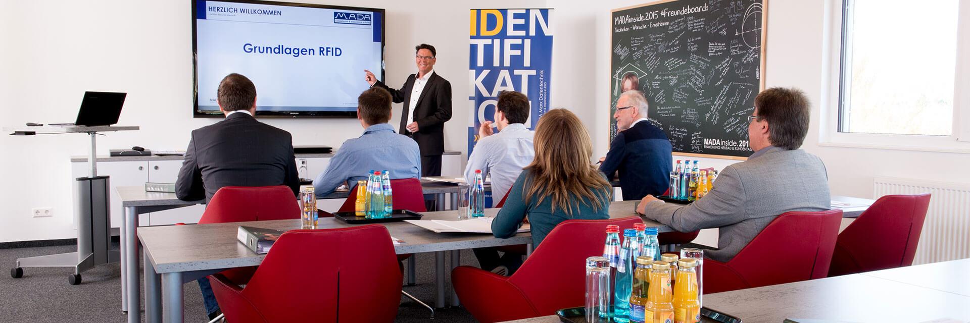 Schulungskurs Grundlagen RFID von Mada