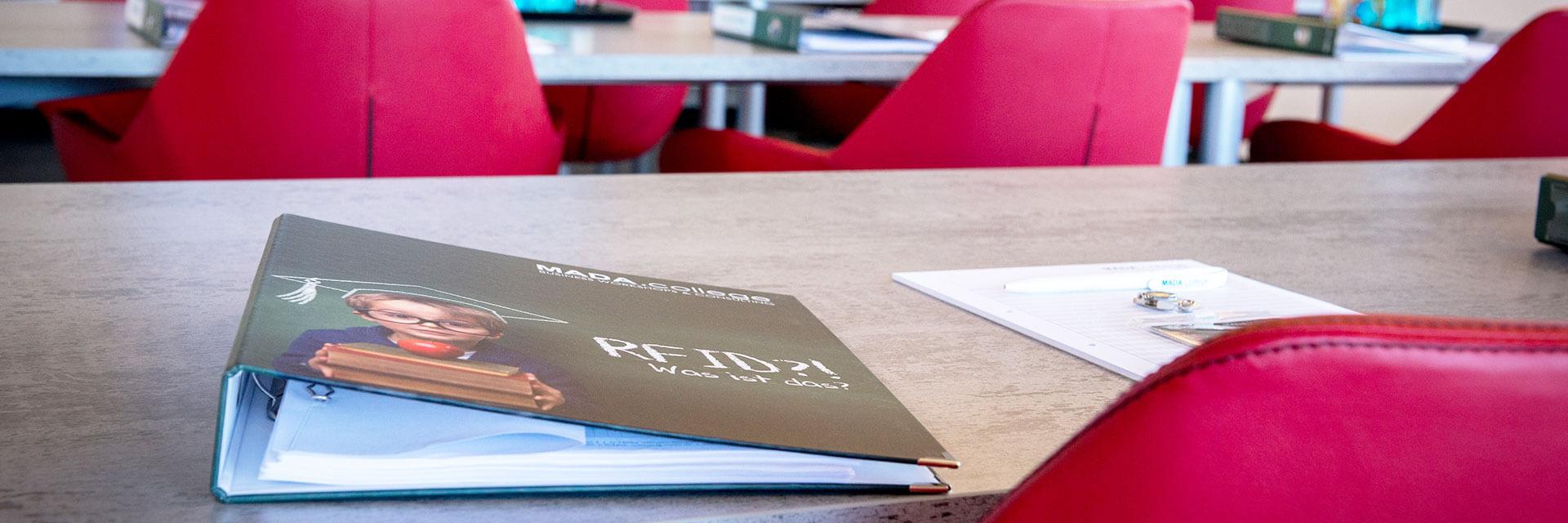 Bild von Schulungsraum RFID von Mada
