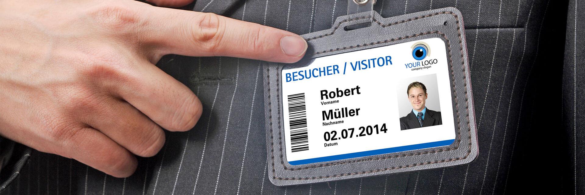 Besucherausweis von Mada